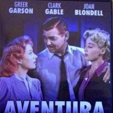 Cine: AVENTURA-CLARK GABLE-GREER GARSON-JOAN BLONDELL DIRIGIDOS POR VICTOR FLEMING (LO QUE EL VIENTO SE.... Lote 41290880