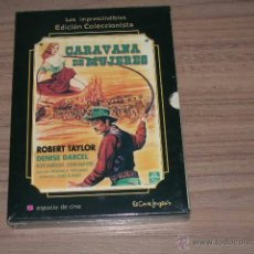 Cine: CARAVANA DE MUJERES EDICION ESPECIAL DVD + LIBRO 34 PAG. NUEVA PRECINTADA ROBERT TAYLOR. Lote 134351106