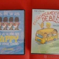 Cine: LOTE 2 DVD: TONY LEBLANC (LOS ECONÓMICAMENTE ... Y UNA VEZ AL AÑO ...) DIVISA ¡ORIGINALES!. Lote 41359394