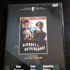 Cine: ACORDES & DESACUERDOS, DE WOODY ALLEN - UMA THURMAN, SEAN PENN, SAMANTHA MORTON... DVD. Lote 41444438