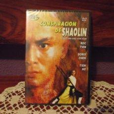 Cine: CONSPIRACION DE SHAOLIN • ROC TIEN - DORIS CHEN • KUNG FU-ARTES MARCIALES • DVD PRECINTADO. Lote 41471349