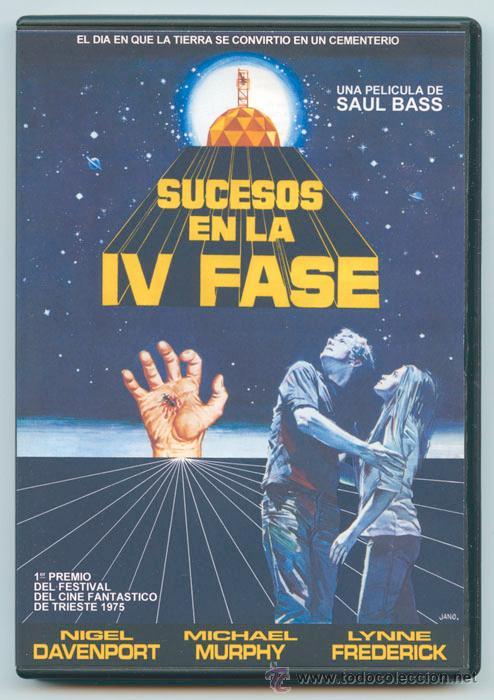 SUCESOS EN LA IV FASE (PHASE IV) - 1974 - SAUL BASS - NIGEL DAVENPORT - MICHAEL MURPHY (Cine - Películas - DVD)