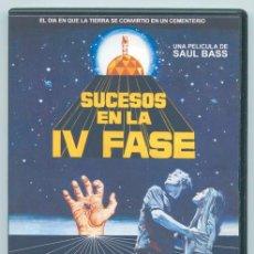 Cine: SUCESOS EN LA IV FASE (PHASE IV) - 1974 - SAUL BASS - NIGEL DAVENPORT - MICHAEL MURPHY. Lote 194353877