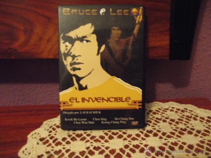 EL INVENCIBLE • BRUCE LEE • KUNG FU-ARTES MARCIALES (Cine - Películas - DVD)