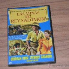 Cine: LAS MINAS DEL REY SALOMON DVD STEWART GRANGER DEBORAH KERR NUEVA PRECINTADA. Lote 186147432