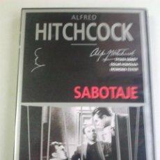 Cine: SABOTAJE 1936 DVD. Lote 41565804
