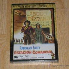 Cine: ESTACION COMANCHE DVD RANDOLPH SCOTT NUEVA PRECINTADA. Lote 104373214