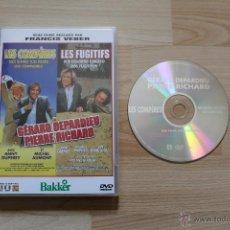 Cine: LES COMPÈRES LOS COMPADRES DVD FRANCIS VEBER GÉRARD DEPARDIEU PIERRE RICHARD. Lote 41686403