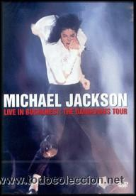 MICHAEL JACKSON - LIVE IN BUCHAREST - THE DANGEROUS TOUR DVD PRECINTADO (Cine - Películas - DVD)