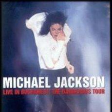Cine: MICHAEL JACKSON - LIVE IN BUCHAREST - THE DANGEROUS TOUR DVD PRECINTADO. Lote 41853226