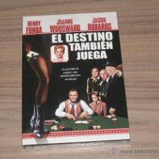 Cine: EL DESTINO TAMBIEN JUEGA DVD HENRY FONDA JASON ROBARDS NUEVA PRECINTADA. Lote 104398096