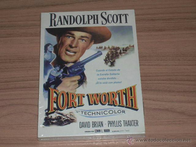 FORT WORTH DVD RANDOLPH SCOTT NUEVA PRECINTADA (Cine - Películas - DVD)