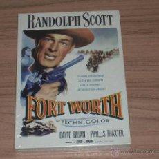 Cine: FORT WORTH DVD RANDOLPH SCOTT NUEVA PRECINTADA. Lote 104373111