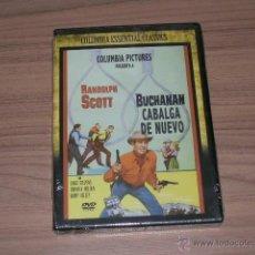 Cine: BUCHANAN CABALGA DE NUEVO DVD RANDOLPH SCOTT NUEVA PRECINTADA. Lote 127623656