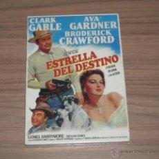 Cine: ESTRELLA DEL DESTINO DVD CLARK GABLE AVA GARDNER NUEVA PRECINTADA. Lote 167108154