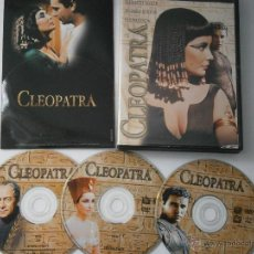 Cine: DVD CLEOPATRA EDICION ESPECIAL 3 DISCOS Y LIBRETO. Lote 41944869