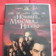 Cine: EL HOMBRE DE LA MÁSCARA DE HIERRO (DVD). Lote 234146785