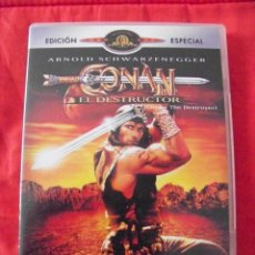 Cine: CONAN: EL DESTRUCTOR (DVD). Lote 42048393
