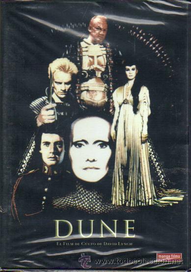 DUNE *** UN FILM DE CULTO DE DAVID LYNNCH***MANGA FILMS***1984**PELICULA DVD NUEVA PRECINTA (Cine - Películas - DVD)