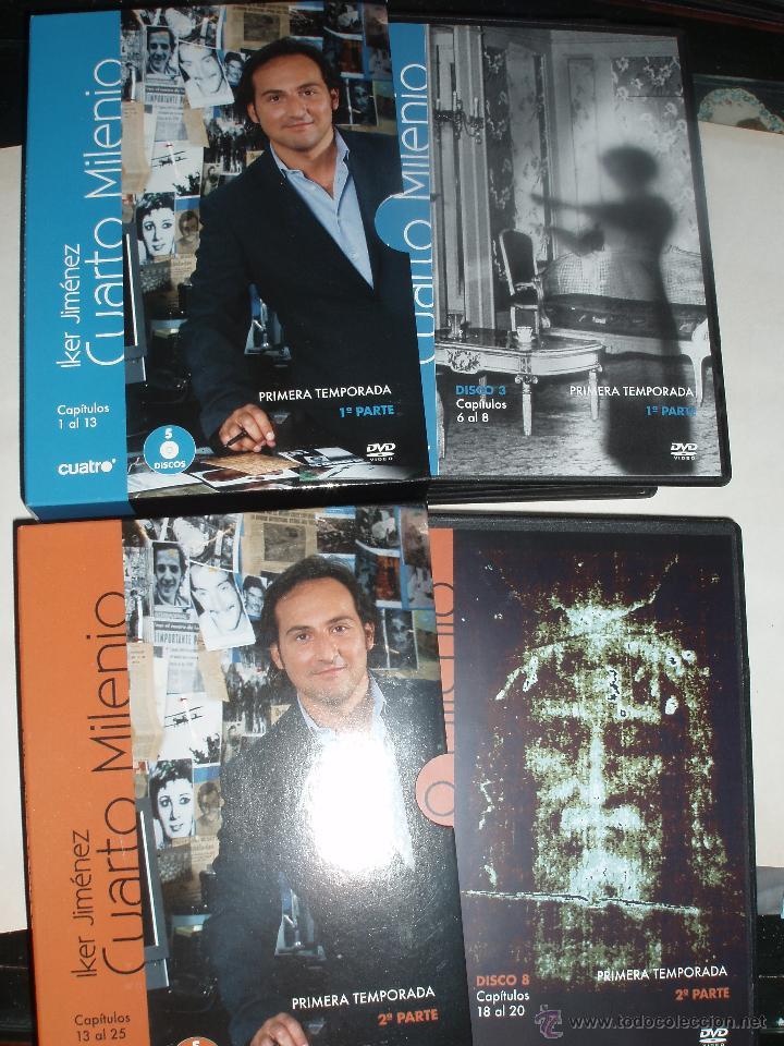 Cuarto milenio 2 packs dvd iker jimenez misteri - Vendido en Venta ...