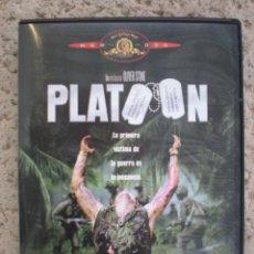 Cine: DVD # PLATOON. Lote 42223690