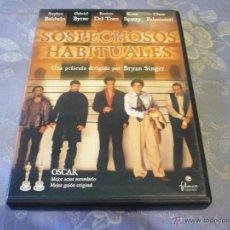 Cine: SOSPECHOSOS HABITUALES ( BRYAN SINGER BALDWIN KEVIN SPACEY ) DVD INTRIGA P33. Lote 42231011