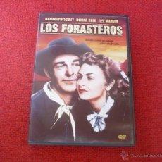 Cine: LOS FORASTEROS ( RANDOLPH SCOTT DONNA REED LEE MARVIN ) DVD WESTERN OESTE CLASICA P33. Lote 42350136