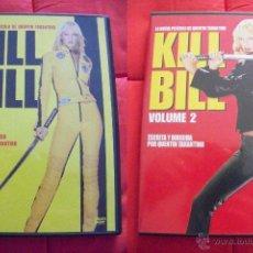 Cine: KILL BILL VOLÚMENES 1 Y 2 (QUENTIN TARANTINO) (DVD). Lote 42360807
