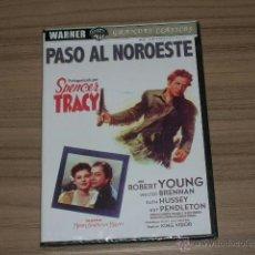Cine: PASO AL NOROESTE DVD ROBERT YOUNG WALTER BRENAN PRECINTADA. Lote 235174775