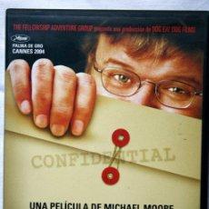 Cine: FARENHEIT 9/ 11. EDICIOPN COLECCIONISTA 2 DVD - MICHAEL MOORE. Lote 42493124