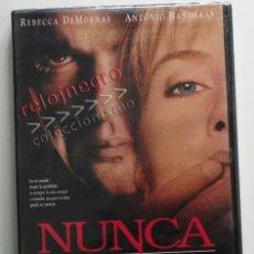 Cine: NUNCA HABLES CON EXTRAÑOS - DVD PRECINTADO - PELÍCULA SUSPENSE - ANTONIO BANDERAS REBECCA DE MORNAY. Lote 42534175