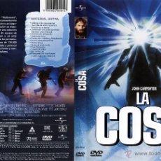 Cine: DVD ORIGINAL * LA COSA *. DTOR. JOHN CARPENTER. DESCATALOGADO. PRECINTADO. RARÍSIMO.. Lote 24042489
