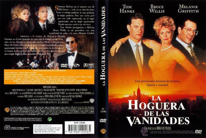 Dvd Original La Hoguera De Las Vanidades Dtor Brian De Palma