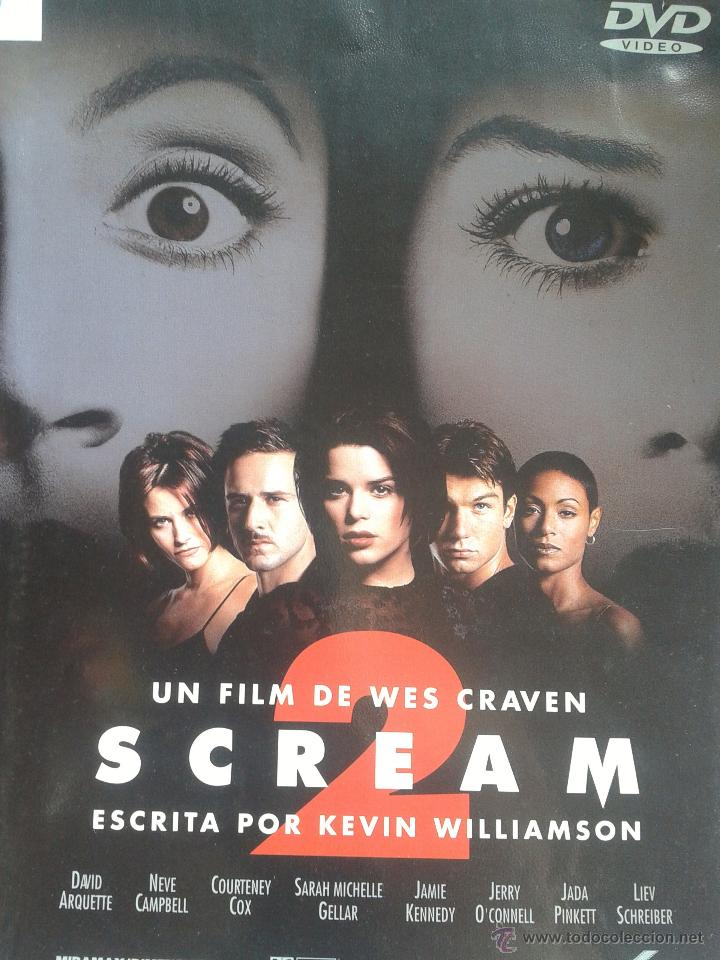 SCREAM 2 ** DE WES CRAVEN *** 1ª EDICION EN DVD (Cine - Películas - DVD)