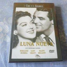 Cine: LUNA NUEVA ( CARY GRANT ROSALIND RUSSELL HOWARD HAWKS ) DVD NUEVA ¡PRECINTADA! COMEDIA CLASICA. Lote 42608721