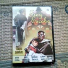 Cine: DVD FRAY ESCOBA, DE RAMON TORRADO, CON RENE MUÑOZ (PRECINTADA). Lote 42626190