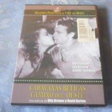 Cine: CARAVANAS BELICAS ( GARY COOPER ) DVD NUEVA ¡PRECINTADO! WESTERN OESTE. Lote 42632157