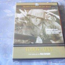 Cine: TODOS A UNA ( ROBERT MITCHUM ) DVD NUEVA ¡PRECINTADA! BELICA. Lote 42643131