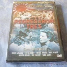 Cine: REGRESARON TRES ( JEAN NEGULESCO CLAUDETTE COLBERT ) DVD NUEVA ¡PRECINTADA! BELICA CLASICA. Lote 42643524