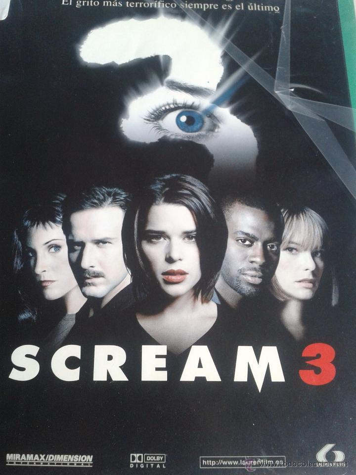 SCREAM 3 **DE WES CRAVEN ** PRIMERA EDICION ORIGINAL (Cine - Películas - DVD)