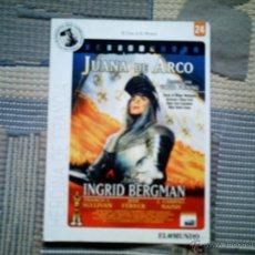 Cine: DVD JUANA DE ARCO (COL. GRANDES ACONTECIMIENTOS SIGLO XX Nº 24 DIARIO EL MUNDO). Lote 42692107