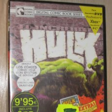 Cine: DVD DIGITAL COMIC BOOK EL INCREIBLE HULK VOL.1. Lote 42709166