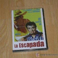 Cine: LA ESCAPADA DVD DE DINO RISI VITTORIO GASSMAN NUEVA PRECINTADA. Lote 186147495