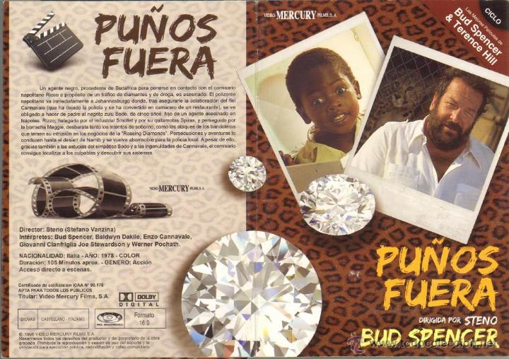 CINE GOYO - DVD - PUÑOS FUERA - CICLO BUD SPENCER & TERENCE HILL *BB99 (Cine - Películas - DVD)