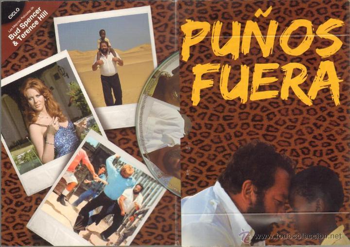 Cine: CINE GOYO - DVD - PUÑOS FUERA - CICLO BUD SPENCER & TERENCE HILL *BB99 - Foto 2 - 42765342