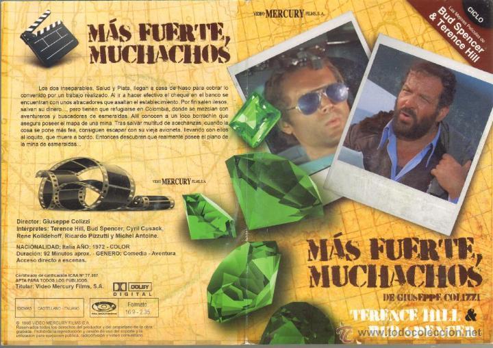 CINE GOYO - DVD - MAS FUERTE MUCHACHOS - CICLO BUD SPENCER & TERENCE HILL *BB99 (Cine - Películas - DVD)
