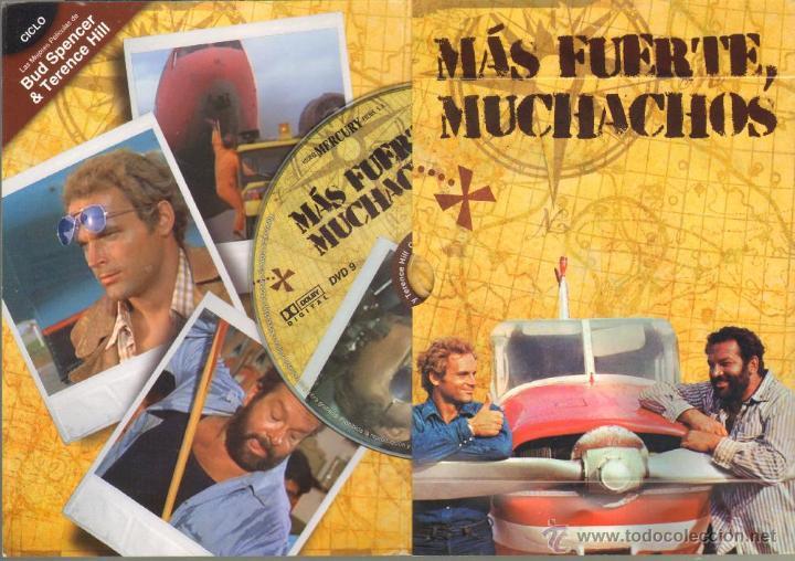Cine: CINE GOYO - DVD - MAS FUERTE MUCHACHOS - CICLO BUD SPENCER & TERENCE HILL *BB99 - Foto 2 - 42765343