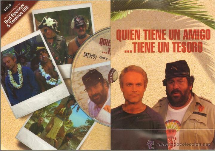Cine: CINE GOYO - DVD - QUIEN TIENE UN AMIGO TIENE UN TESORO - CICLO BUD SPENCER & TERENCE HILL *BB99 - Foto 2 - 42765347
