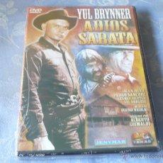Cine: ADIOS SABATA ( YUL BRYNNER ) DVD NUEVA ¡PRECINTADO! SPAGUETTI WESTERN OESTE. Lote 42767650