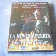 Cine: LA NOVENA PUERTA ( ROMAN POLANSKI JOHNNY DEPP ) DVD NUEVA ¡PRECINTADA! INTRIGA. Lote 42805862